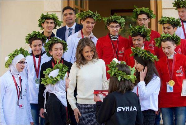 asma al-assad 2015