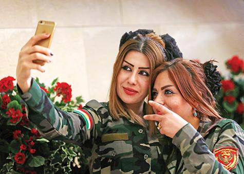 IRAQ-KURDS-PESHMERGAñCONFLICT